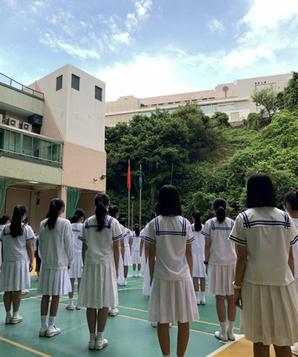 Flag-raising Ceremony for the New School Year
